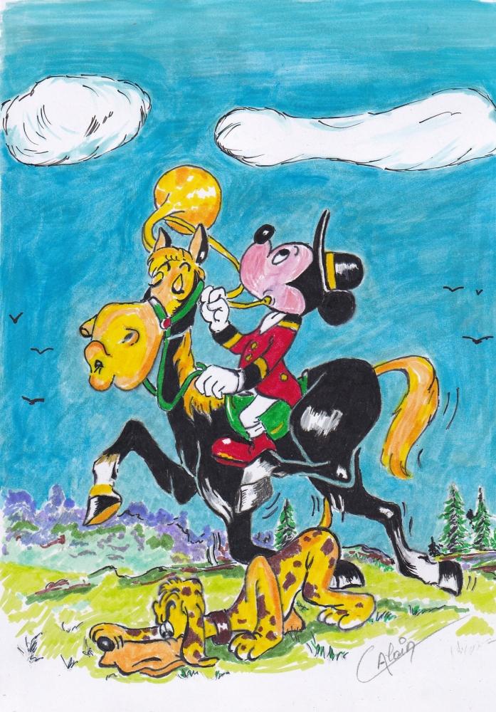 Mickey Mouse por lharmonica1